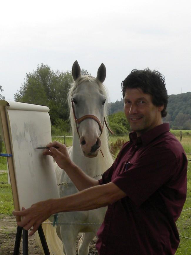 Pferde Malen Und Zeichnen Claus Rabba